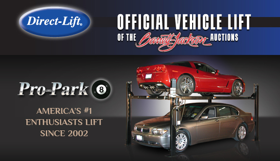 Direct Lift at Barrett Jackson