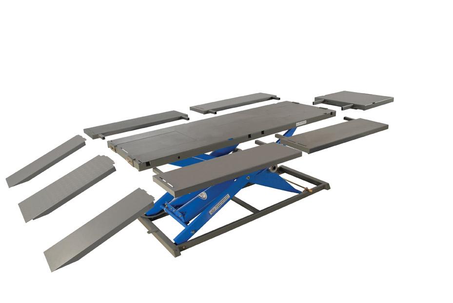 35-6350 K&L MC625R Motorcycle Lift Table