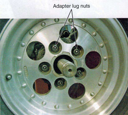 Wheel Balancing Lug Centric